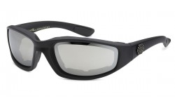Choppers Color Mirror Foam Lined Unisex Motorcycle Sunglasses 8CP924-RV