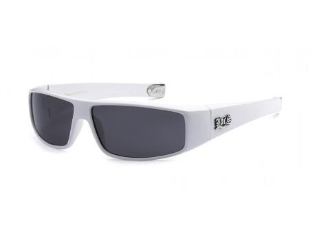 Locs Sunglasses All White 9035