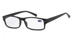 Readers R357-ASST (Mix Strength) Criss Cross Pattern Print with Spring Temple Unisex Frame