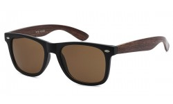 Retro Rewind Wf01-wood Classic Iconic Profile with Contemporary Wood Pattern Temple
