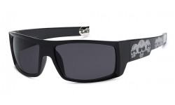 Locs Skull Hardcore Sunglasses 91025