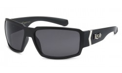 Locs Matte Black Hardcore Sunglasses 91084