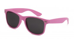 Retro Rewind Light Pink Unisex Sunglasses WF01