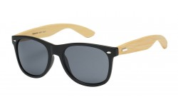 Bamboo Wood Wayfarer Sunglasses 89001