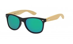 Bamboo Wood Wayfarer Sunglasses 89001