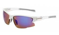 Arctic Blue Sleek Contour Sunglasses AB-45