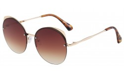 Giselle Round Metallic Sunglasses 28151