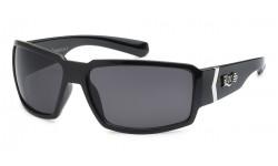 Locs Shiny Black Sunglasses loc91084-bk