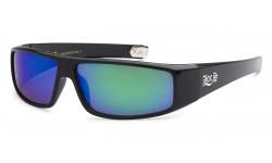 Locs Polished Black Men's Sunglasses 9035