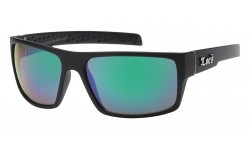 Locs Matte Black Sunglasses 91106-mbrv