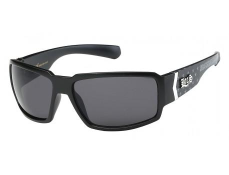 Locs Shiny Black Wrap 90184-usa