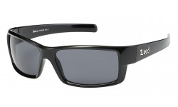 Locs Shiny Black Sports Sunglasses loc91108-bk