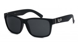 Locs Matte Black Sunglasses locs91070-mb