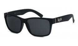 Locs Polished Black Sunglasses locs91070-bk