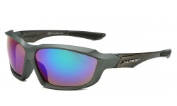 Xloop Polymer Wrap Frame Sunglasses x2602