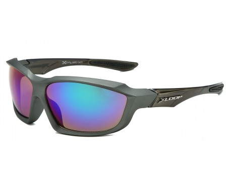 Xloop Polymer Wrap Frame Sunglasses x2602