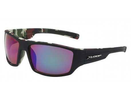 Camouflage Pirnt Square Frame Shades x2596