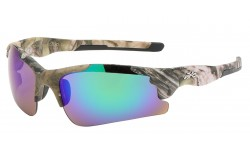 Xloop Semi Rimless Sunglasses x3624-camo