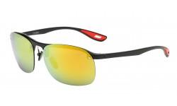 Classic Semi Rimless Frame Sunglasses 712081