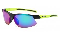 Xloop Semi Rimless Wrap Sunglasses x2579