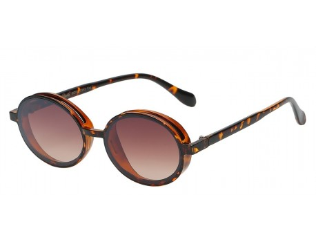 Giselle Oval Small Retro Frame Shades gsl22353