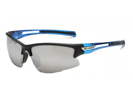 Xloop Semi Rimless Wrap Sunglasses x2585