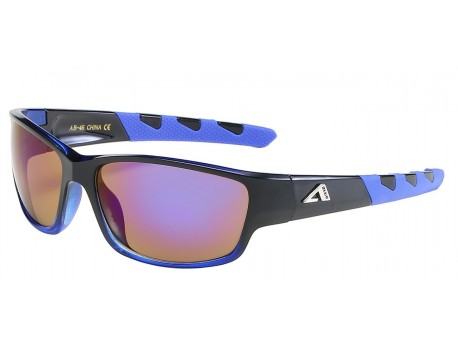 Arctic Blue Wrap Frame Shades ab-46