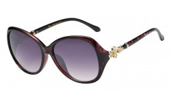 Rhinestone Butterfly Frame Sunglasses rs1930