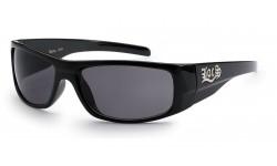 Locs Polished Black Sunglasses loc9085-bk
