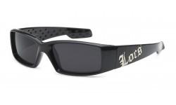Locs Polishe Black Sunglasses loc9052-bk