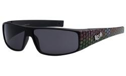 Locs Marijuana Printed Sunglasses loc9035-mj