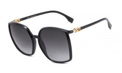 VG Accented Temple Square Sunglasses vg29416