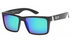 Locs Color Mirror Sunglasses loc91102-bkcm