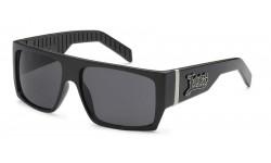 Locs Polish Black Men's Sunglasses loc91010-bk