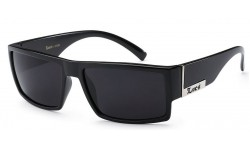 Locs Sunglasses Polished Black 91026-bk