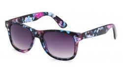 Wayfarer Sunglasses Translucent Floral wf01-flw