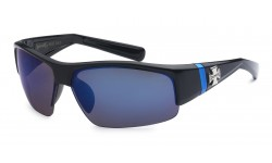 Choppers Semi-Rimless Sunglasses 6632