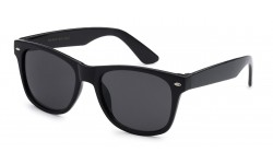 Juniors Retro Rewind Black Kids Wayfarer