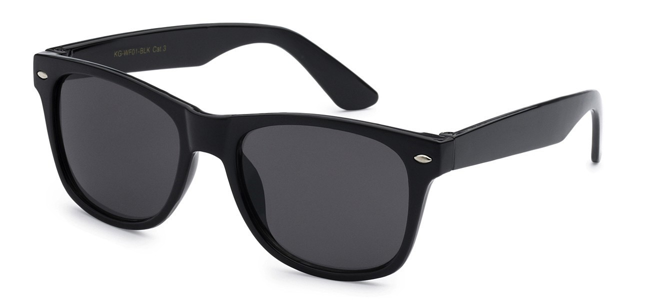 cbbe5daeee Juniors Retro Rewind Black Kids Wayfarer ...