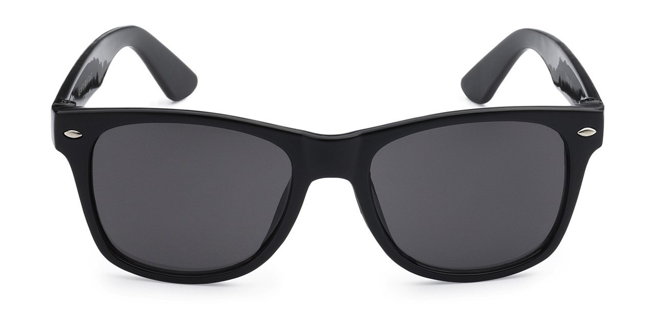 3030210a7b ... Juniors Retro Rewind Black Kids Wayfarer ...