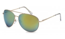 Air Force Sunglasses Matte Gold/Spring Hinges 107-mgrv